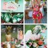 main Bold And fun Tropical Bridal Shower Ideas