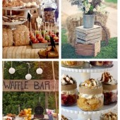 main Creative And Cute Rustic Bridal Shower Ideas