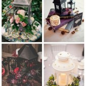 main Chic Lantern Wedding Centerpieces