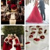 main Bold Red Winter Wedding Ideas