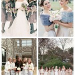 main Fabulous Winter Bridesmaids' Dresses And Wraps