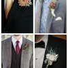 main Winter Wedding Boutonnieres For Every Groom