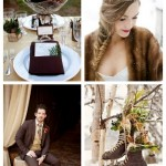 main Chic Brown Winter Wedding Ideas