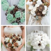 main Unconventional Winter Wedding Bouquets