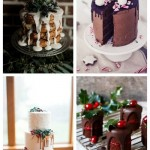 main Winter Drip Wedding Cakes