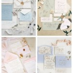 main Tender Pastel Wedding Stationery Ideas