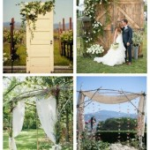 main Dreamy And Romantic Backyard Wedding Backdrops And Arches