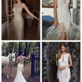 main Playful Fringe Wedding Dresses