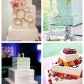 main Square Wedding Cakes That Wow
