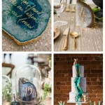 main Trendy And Chic Geode Wedding Ideas