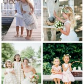 main 32 Touching And Cute Summer Flower Girls Looks