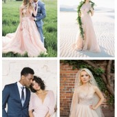 main 23 Romantic Blush And Pink Wedding Dresses
