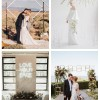 main 20 Modern Wedding Arches And Altars