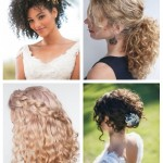 main 24 Wedding Hairstyles For Naturally Curly Hair