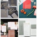 main 31 Modern And Edgy Wedding Invitations