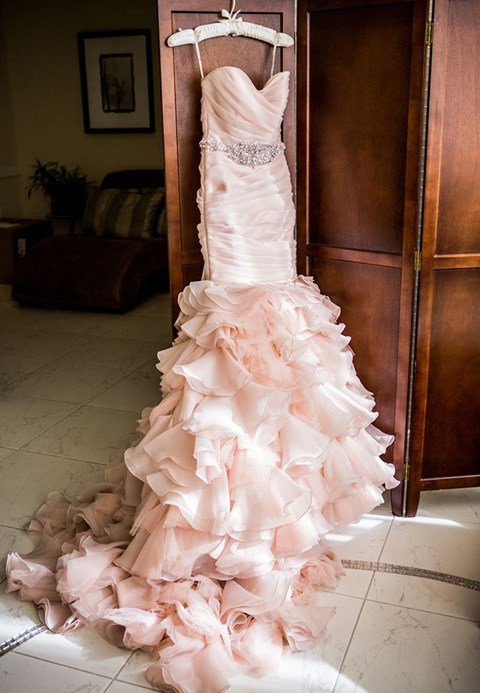 Blush Pink Wedding Inspiration: 100 Romantic Ideas