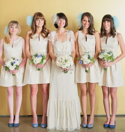 chic-polka-dot-bridesmaids-dresses-2