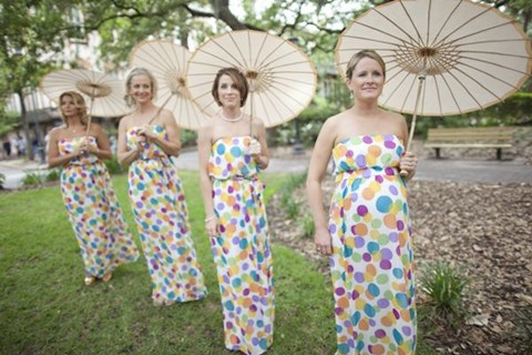 chic-polka-dot-bridesmaids-dresses-25