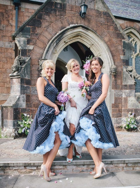 chic-polka-dot-bridesmaids-dresses-32
