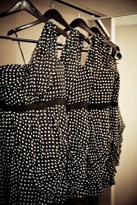chic-polka-dot-bridesmaids-dresses-36