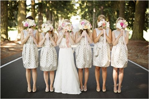 chic-polka-dot-bridesmaids-dresses-4