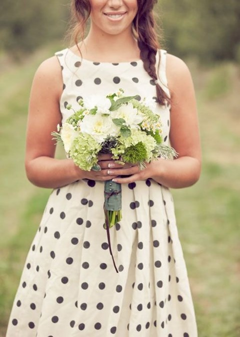 chic-polka-dot-bridesmaids-dresses-9