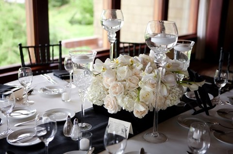 elegant table settings weddings 1