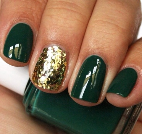wedding colors of emerald and gold 32