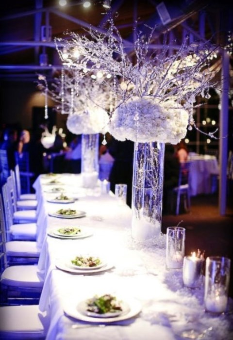 90 inspiring winter wedding centerpieces youll love happywedd by mia junglespirit