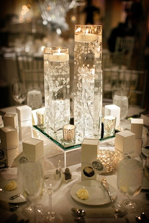 90 inspiring winter wedding centerpieces you ll love for Wedding table decoration ideas