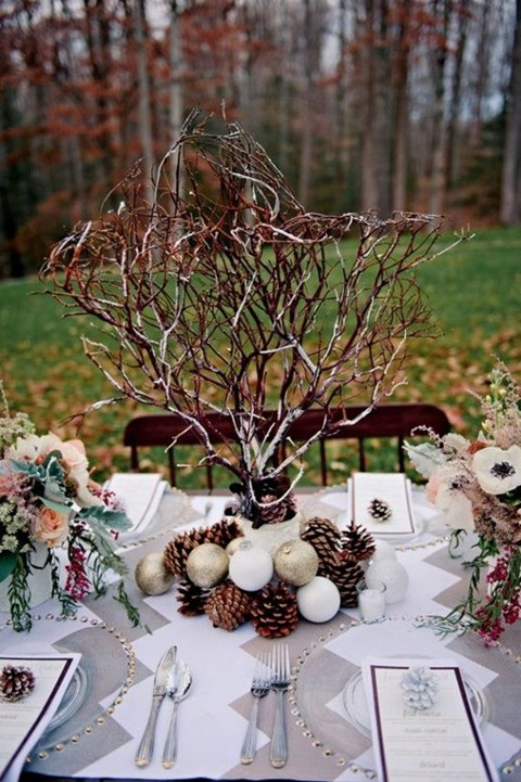 90 inspiring winter wedding centerpieces youll love happywedd by mia solutioingenieria Image collections