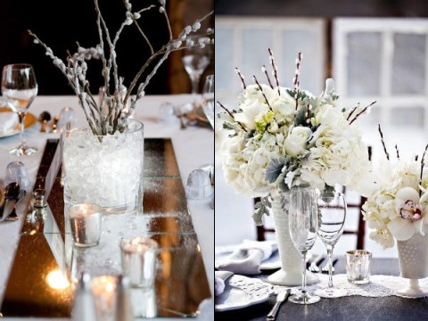 90 inspiring winter wedding centerpieces youll love happywedd junglespirit Images