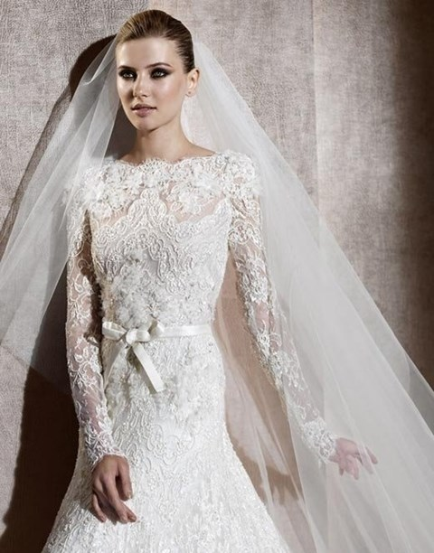 101 Adorable Long-Sleeved Wedding Dresses
