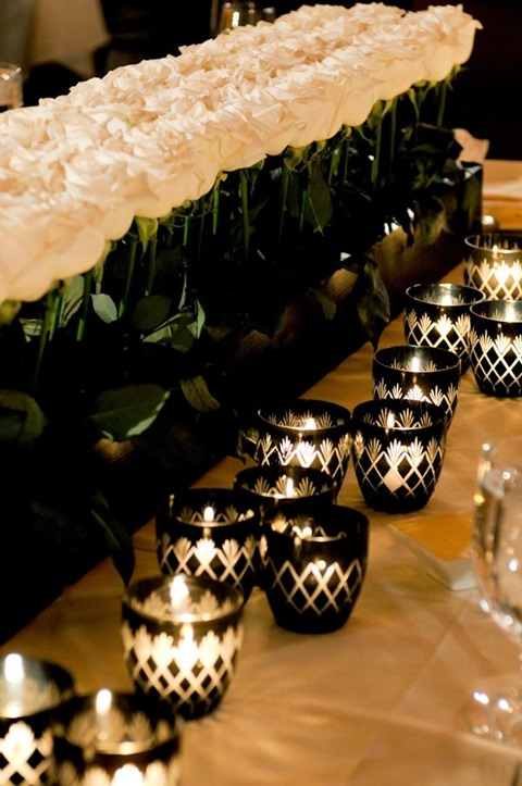 46 Cool Black And White Wedding Centerpieces