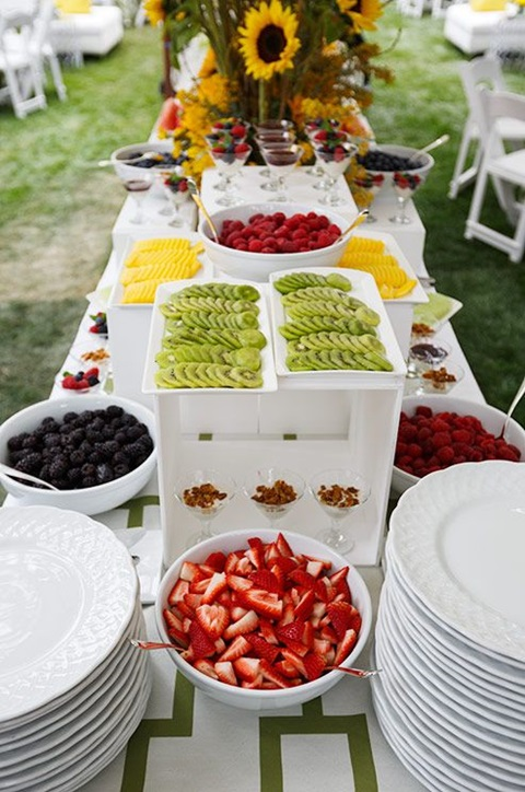 73 awesome wedding food bars you ll love for Food bars for weddings