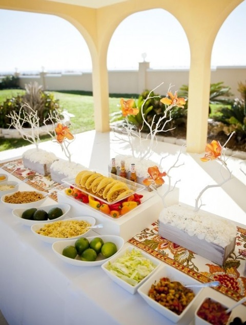 73 Awesome Wedding Food Bars You\'ll Love | HappyWedd.com