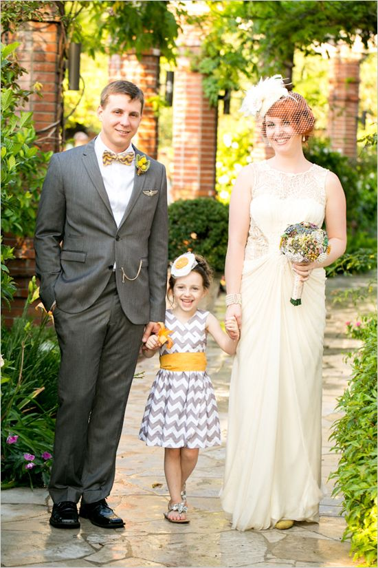 grey and yellow wedding ideas 10
