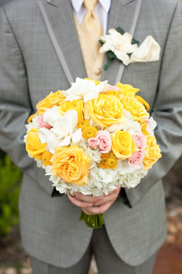 grey and yellow wedding colors 21