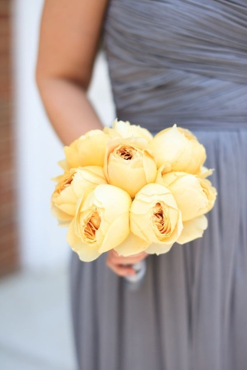 grey and yellow wedding colors 24