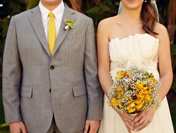 grey and yellow wedding colors 25