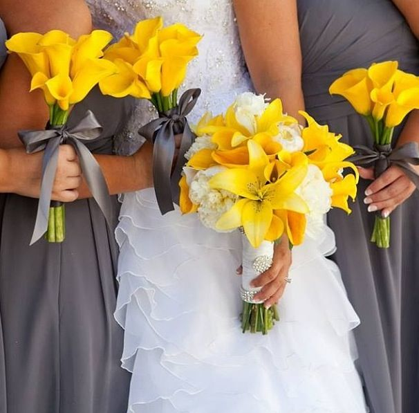 grey and yellow wedding colors 27