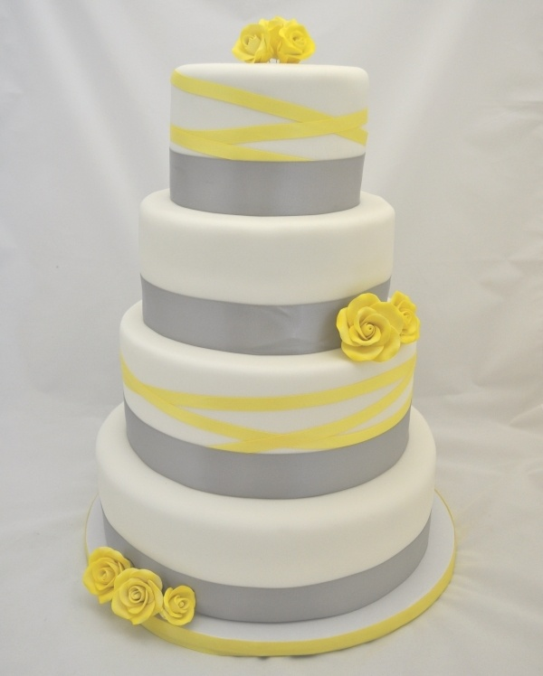 grey and yellow wedding colors 29