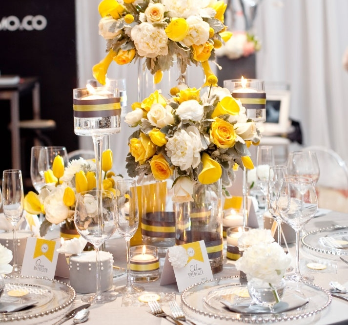70 grey and yellow wedding ideas for spring and summer weddings 70 grey and yellow wedding ideas for spring and summer weddings junglespirit Image collections