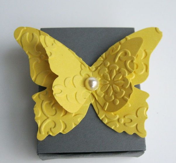 yellow and grey wedding idea 37