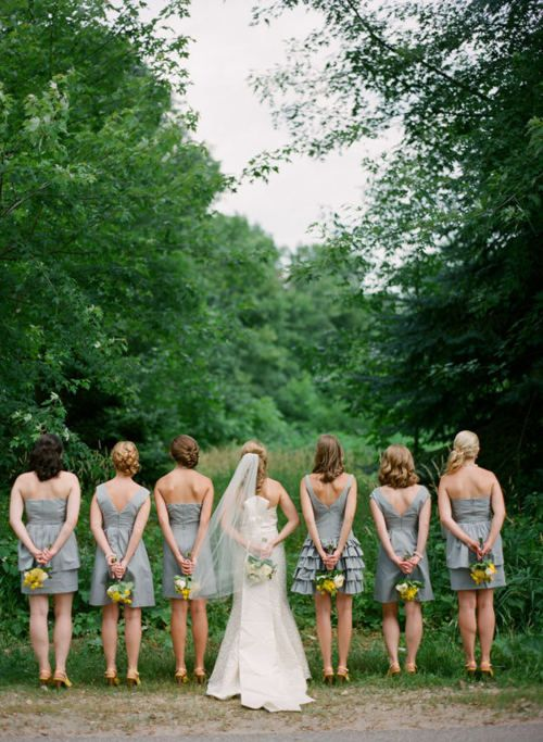 yellow and grey wedding idea 42