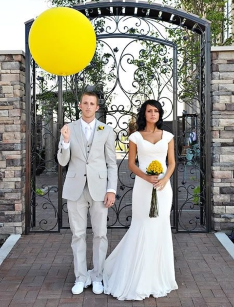 yellow wedding ideas 44