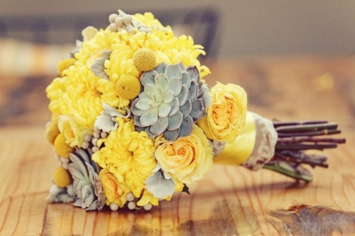 yellow wedding ideas 49