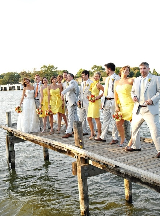 yellow wedding ideas 51