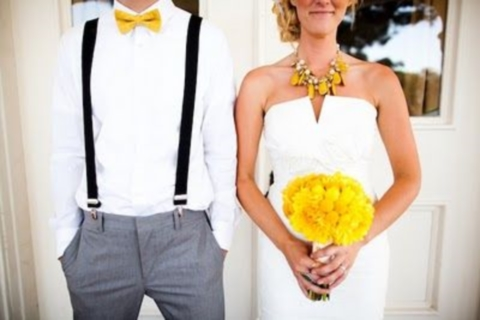 yellow wedding ideas 55