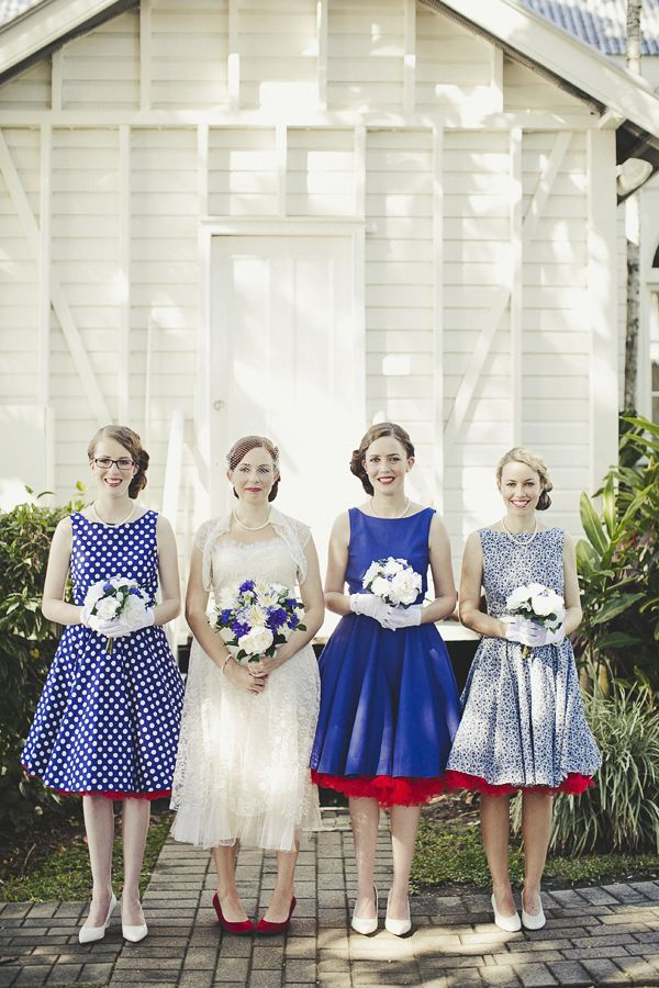 54 Cool Mismatched Bridesmaids' Dresses